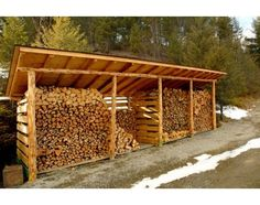 Use the downed white oak limbs as the supports, pallet dividers, roof material and solar panels - Awesome