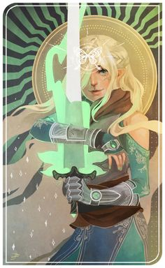 companion card of mithiin lavellan for lumenizampel ;u; thank you for the commission