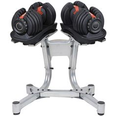 2pc Adjustable Dumbbell Set with Stand 24kg Each | Buy Dumbbells