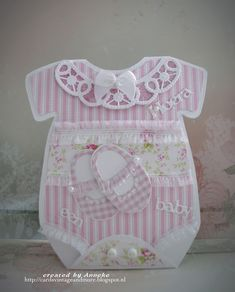 DT card, made for AnMa Creatief, baby onesie https://www.anmacreatief.nl