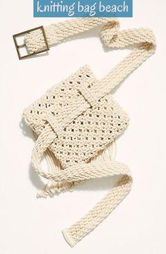 Slide View Beach Flower Belt Bag Source by cakorstad bags Crochet Belt, Bead Crochet, Crochet Stitch, Macrame Bag, Macrame Knots, Macrame Mirror, Macrame Curtain, Flower Belt, Macrame Patterns