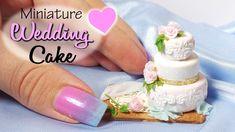 Cute Miniature Wedding Cake Tutorial // Dolls/Dollhouse