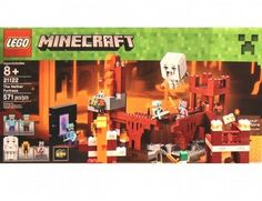 The Lego Minecraft Nether Fortress - a great selection of Lego construction sets at Wonderland Models.