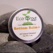 Eco Sprout Bottom Balm, all natural ingredients and cloth diaper safe!