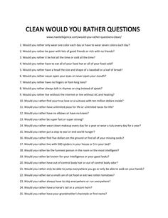 5 Fun Questions Worksheet 86 Would You Rather Questions Funny – Hilarious but hard to √ Fun Questions Worksheet . Present Simple Wh Questions in Would You Rather Questions, Fun Questions To Ask, Funny Questions, Questions To Get To Know Someone, Would You Rather Clean, Interesting Questions To Ask, This Or That Questions, Funny Icebreaker Questions, Newlywed Game Questions