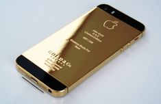 Get a real gold iPhone Iphone 5s Gold, Coca Cola, Latest Smartphones, Or Rose, Rose Gold, Apple Iphone, Iphone Cases, 5s Cases, Plating
