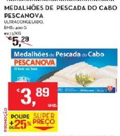 Acumulação Pescanova - possibilidade de 0,24€/embalagem