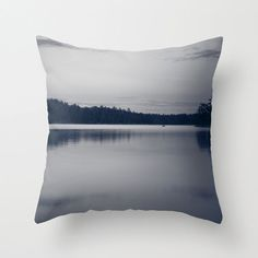 Boundary Waters, Photo Pillow Cover, Black and White, Photography Decor, Throw Pillow Cover, Landscape Photo, Nature Pillow, BWCA Home Decor on Etsy, $36.00