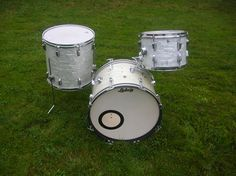 Classic WMP Ludwigs Ludwig Drums, Music Instruments, Sparkle, Antiques, Board, Classic, Silver, Vintage, Antiquities