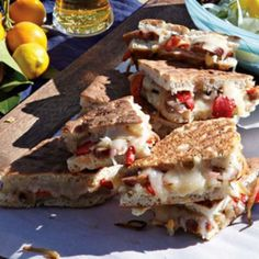 Italian Sausage and Roasted Pepper Panini | Williams Sonoma