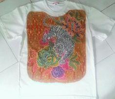 Kaos batik tulis DOLLY