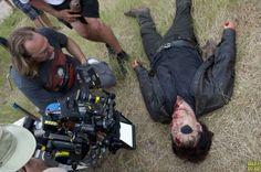Detrás de las cámaras de The Walking Dead.