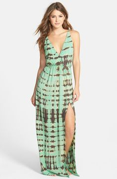 d76e168c53 BLUE LIFE  High Tide  Tie Dyed Jersey Maxi Dress available at  Nordstrom  Blue