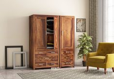 Allan is a wardrobe with gorgeous contemporary designs.  It has a single door and a two door wardrobe attached together - multifunctional as well as attractive too!