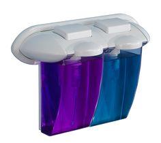 Dosificador gel doble blanco 715 #equipamiento #bano