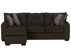 Hemitite Grey 2-Piece Chaise Sofa