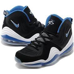 Hardaway Penny shoes 2012-Air Penny 5 Orlando Grey Black Soar Blue White  Kobe Shoes ec010c6c461e