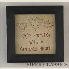grateful heart stitchery                                                                                                                                                      More
