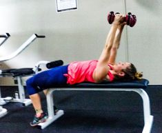 Eliminate Arm Flab with Tricep Exercises with Dumbbells at Home Tricep Workout Routine, Six Pack Abs Workout, Workout Log, Fitness Workout For Women, Fat Workout, Workout Ideas, Workout Dumbell, Fitness Abs, Workout Schedule