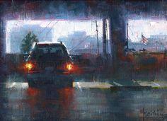 Idling on P3 by Jennifer McChristian Oil ~ 9 x 12