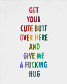 """This collection of the 50 best cute love quotes and sayings with images for him or her is sure to help men and women in relationships find just the right ways to say """"I love you"""" to that special someone. Cute Love Quotes For Him, Life Quotes Love, Hug Quotes, Funny Quotes, Qoutes, Naughty Quotes, Sister Quotes, Crush Quotes, Funny Humor"""