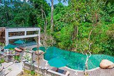 the lokha Ubud Resort, Ubud Hotels, Bali Honeymoon, Balinese, Luxury Villa, Guest Room, Natural Beauty, Entrance, Photo Galleries