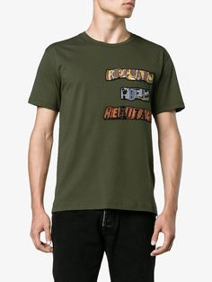 Valentino reclaim your heritage patch T-shirt