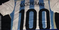 Javier Mascherano celebrated 100 caps for his nation at this World Cup: impressive.   www.supersoccersite.com