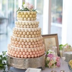Cake Popping a wedding cake with cake pops?! EPIC!!!