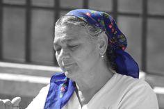 #face #headscarf #human #old #portrait #woman