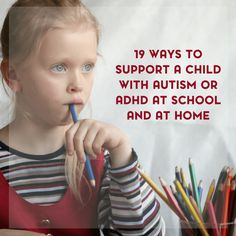 If you are looking to support your child's sensory needs, here are 19 ways to support children with autism or ADHD at school and at home.