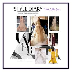 """""""ellie saab's diary"""" by nazerenler on Polyvore featuring Elie Saab"""