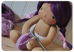 Primrose - A handmade Millie's Dollhouse natural doll.  https://www.facebook.com/MilliesDollhouse
