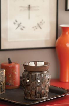 #Scentsy Full-size warmer - Strata  #modernist