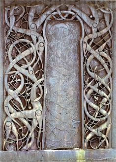 Interlaced Carving from a stave church