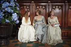 The White Queen BTS - there are actually three white queens, and all of them are witches.