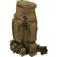Mountaineers Backpack Heavy Duty Water Resistant Hiking Camping Free Shipping #ExtremePak