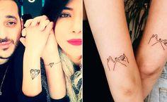 Die schönsten Freundschaftstattoos #tattoo #freunde #freundschaft