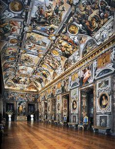 Jacopo Zucchi, Decorazioni della Galleria, 1589-1592, Palazzo Rucellai Caetani Ruspoli, Roma