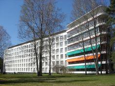 1928 Paimio Sanatorium. Hugo Alvar Henrik Aalto.