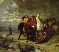 Evariste-Vital Luminais - Combat de Romains et de Gaulois - Évariste-Vital Luminais — Wikipédia