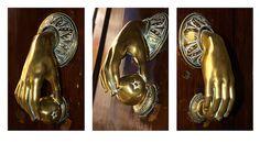 Door Knokers | Door Knocker triptych | Flickr - Photo Sharing!
