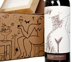 Vins de Pedra on Packaging of the World - Creative Package Design Gallery