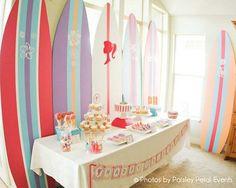 Beach Barbie Inspired Birthday Party
