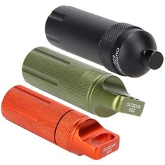 Hot sale EDC Survival Waterproof Pill Case Box Container w/O-Ring Outdoor Hiking Emergency Gear travel kits Tool.