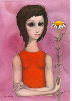 """Sprout and Stem"" ~ Margaret Keane, 1968"