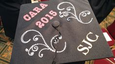 Thanks, Cara, for allowing us to snap a pic of your great looking graduation cap. Congratulations!