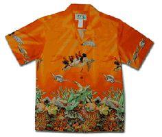 Free Hawaiian Shirt Sewing pattern
