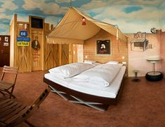 Unique Bedroom Designs make the Children Comfortable | Home