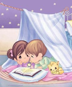 Bestselling Precious Moments® brand with a popular bedtime theme.When it's time to tuck toddlers in for the night, this case-bound, padded board book from the Precious Moments® Precious Moments Quotes, Precious Moments Figurines, Inspirational Short Stories, Sarah Kay, My Precious, Little Books, Quality Time, Friends Forever, Bedtime